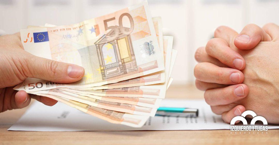 GESTORIA IZQUIERDO - LIMITACIÓ DE L'ÚS DE L'EFECTIU en les transaccions