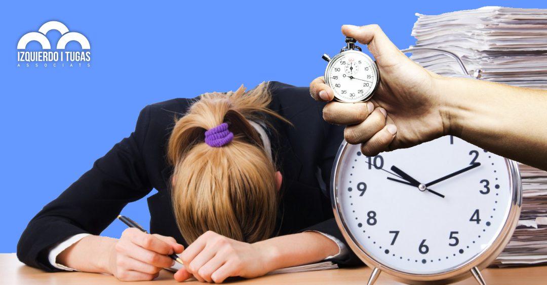 A voltes amb el registre horari - ASSESSORIA IZQUIERDO i TUGAS - Gestoria Izquierdo
