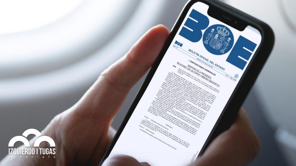 Boe Real Decreto Marzo 2020 - Izquierdo i Tugas Associats - Gestoria Izquierdo