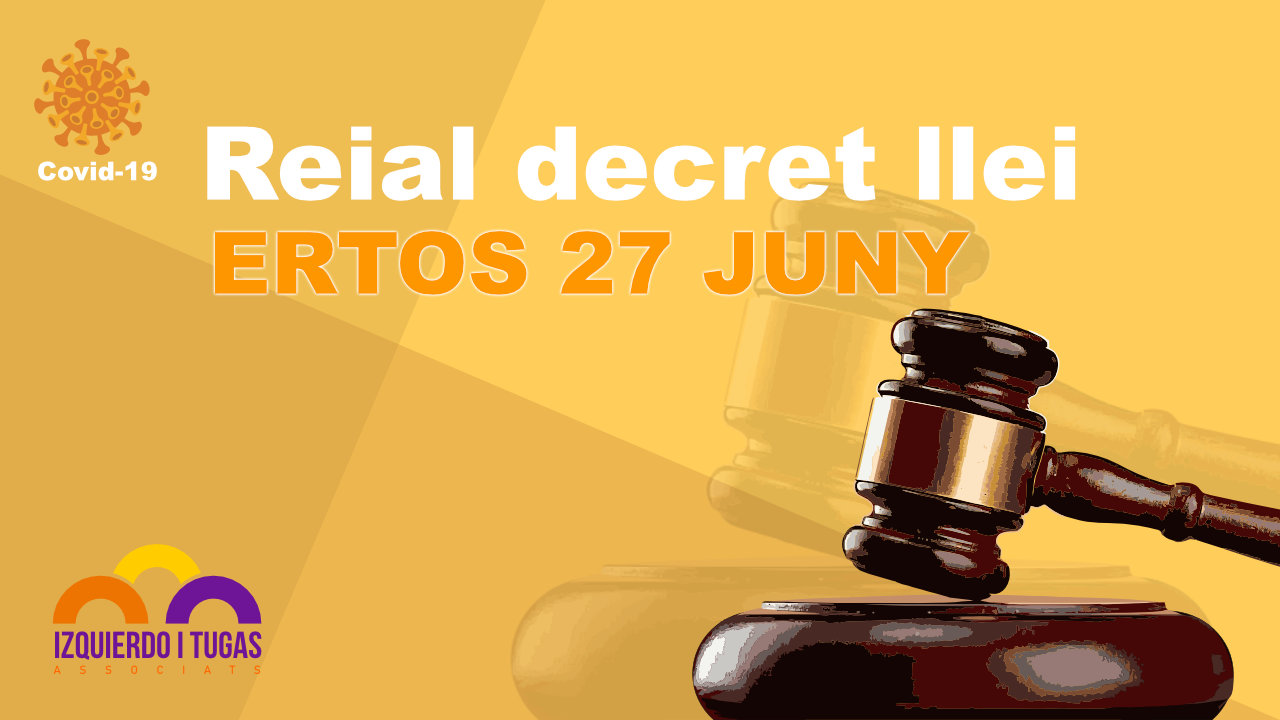 ERTOS - Izquierdo i Tugas Associats - Gestoria Izquierdo - JUNIO -2020