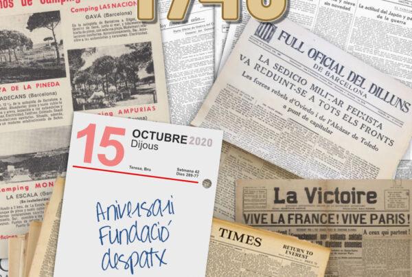 80 ANIVERSARI - Izquierdo i Tugas Associats - Gestoria Izquierdo