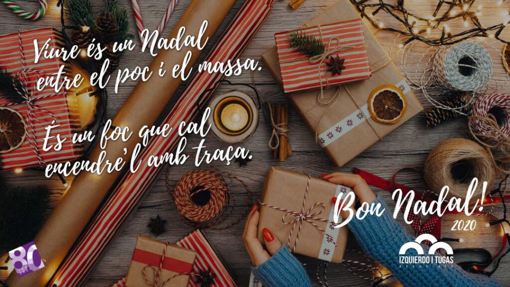 Bon Nadal - Izquierdo i Tugas 2020